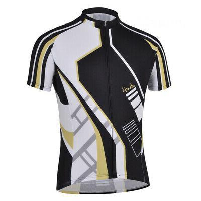 men s short sleeve race cut cycling