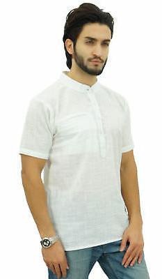 Atasi Men's Cotton Mandarin Collar Ethnic