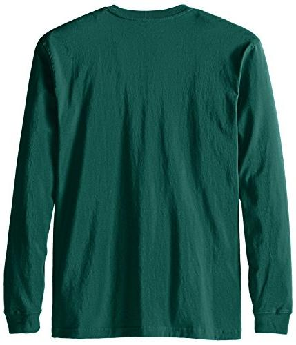 Carhartt Men's Size Big & Tall L/S Henley, Hunter X-Large