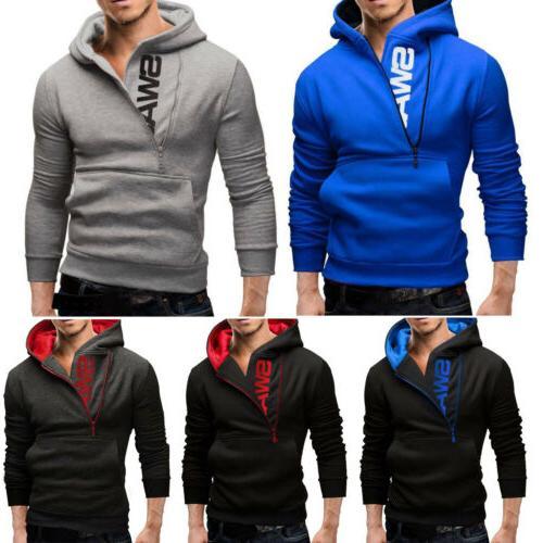 Men's Hoodie Vest Sweatshirt