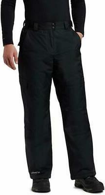 Columbia Men's Snow Gun Pant, Black, Size LARGE, Waterproof,