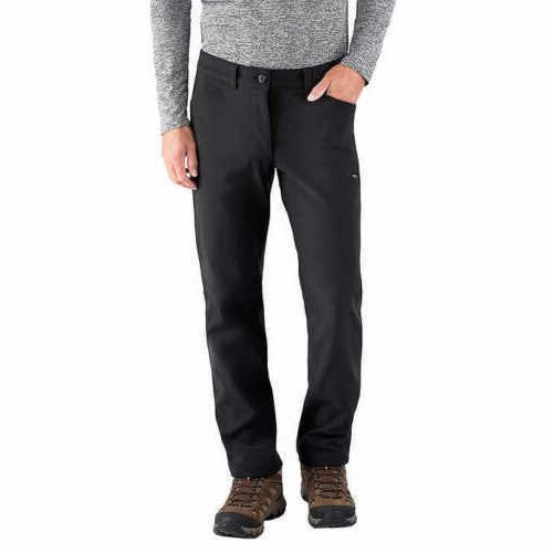 NWT Men's BC Clothing Expedition Pants Black Fleece lined so