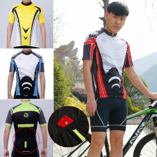 Men's Sport Team Cycling Jersey Top