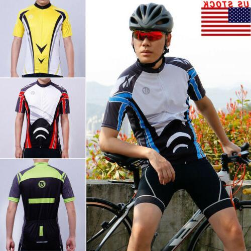 men s sport team cycling jersey bike