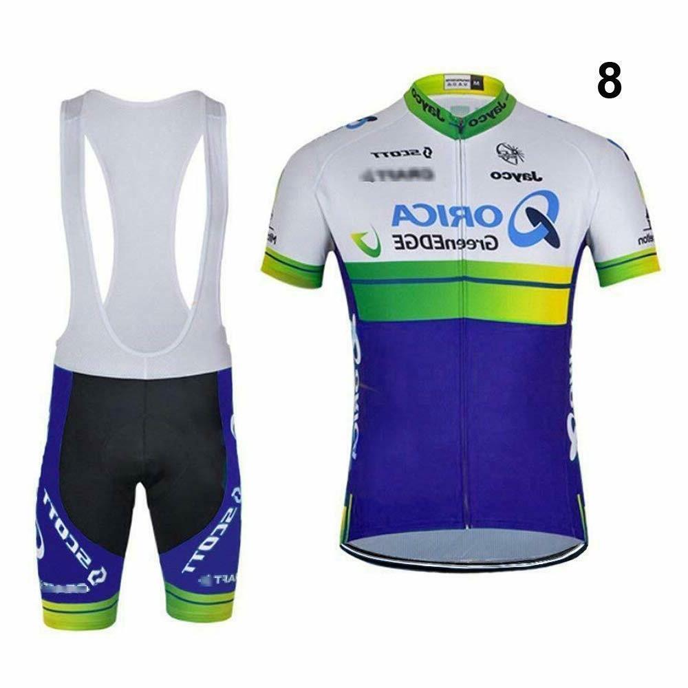 Men's Jersey Bike Bicycle Bib Short Clothing