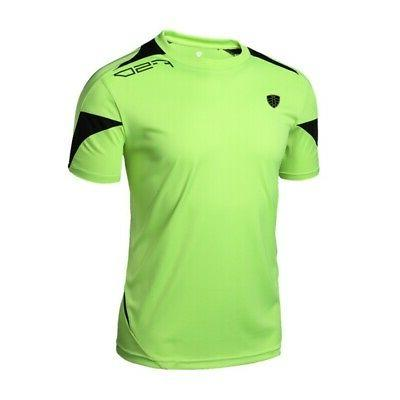 Men's T-shirt Compression Quick Dry Running Clothing Tops