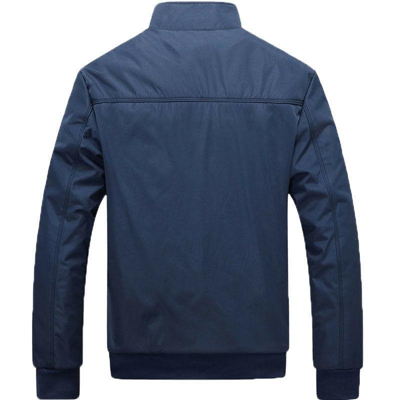 Men's Spring Jacket Wear Clothing Collar Cotton