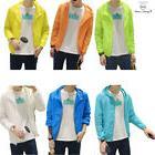 Men's Sun Protection Coat Hooded Thin Jacket Outdoor Sports