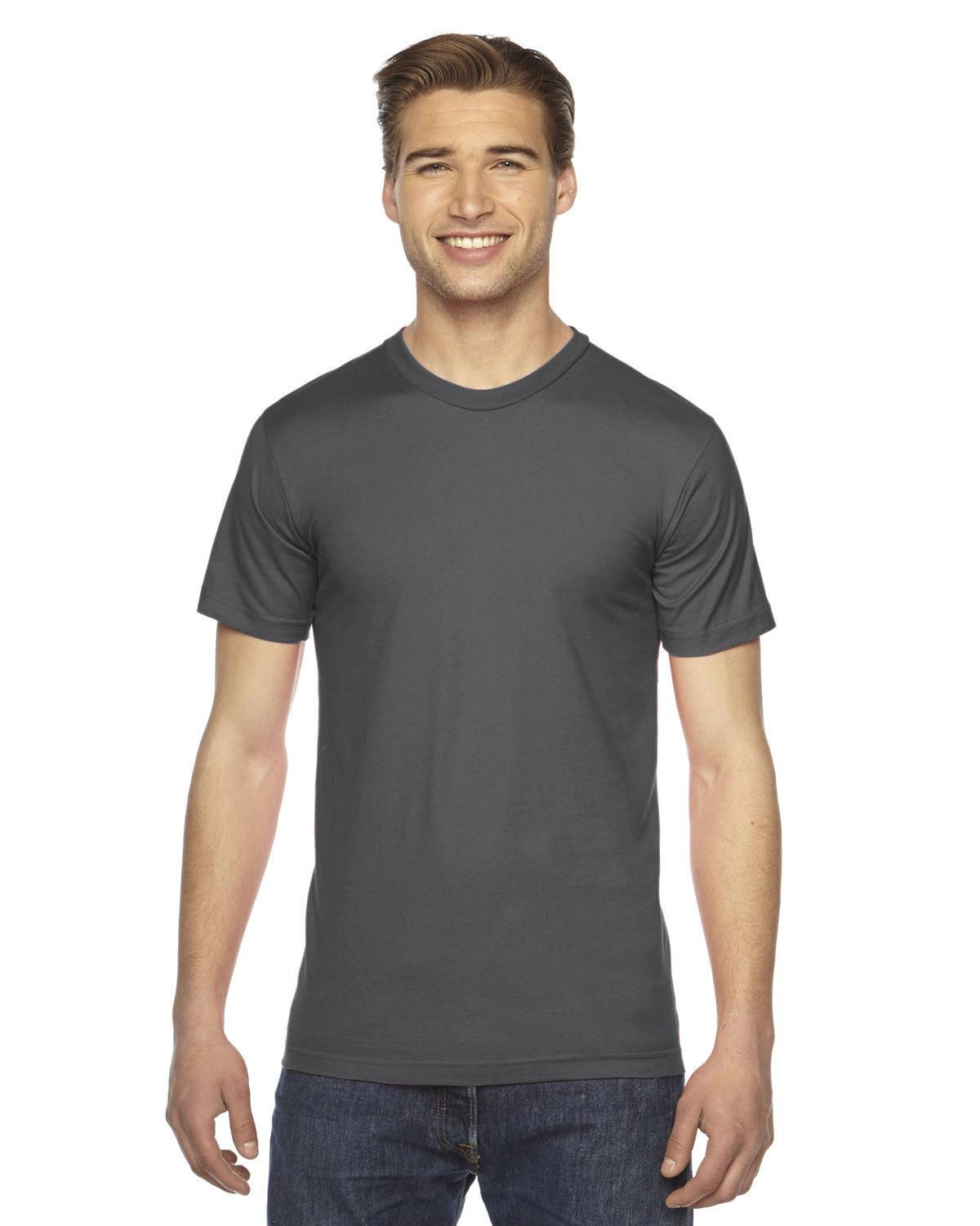 American Apparel Crew Tee Fine 39 Colors