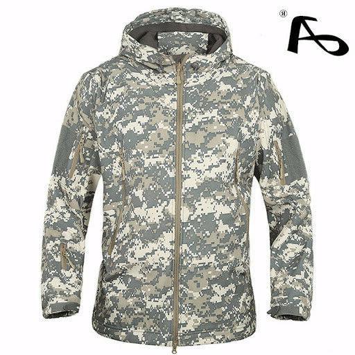 TACVASEN Men's Tactical Hooded Jacket