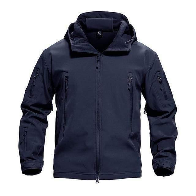 TACVASEN Tactical Hooded Softshell fleece Jacket