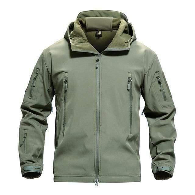 TACVASEN Men's Hooded Softshell fleece Jacket coat