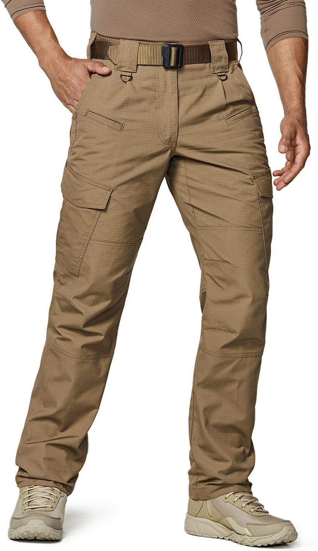 men s tactical pants water repellent ripstop