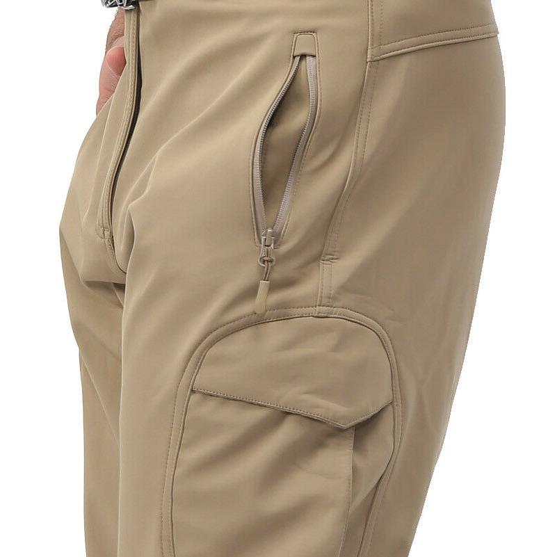TACVASEN Shell Fleece Army Pants Trousers
