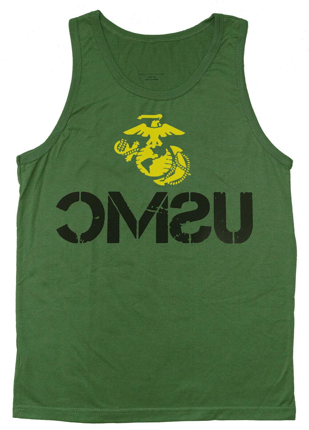 men s tank top usmc muscle shirt