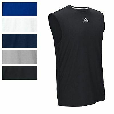 men s ultimate sleeveless tee athletic muscle