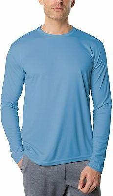 Vapor Apparel Men's UPF 50+ UV Sun Protection Performance Lo