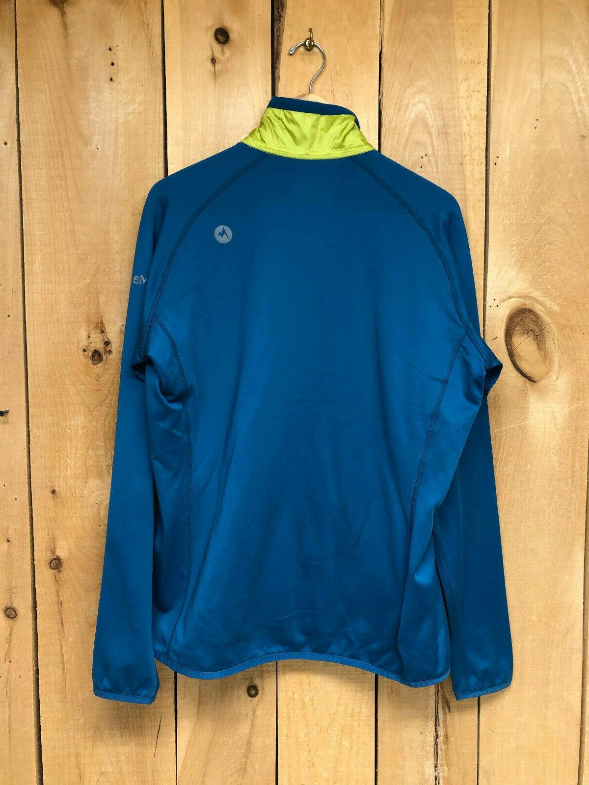 Marmot Men's Variant Jacket w/ Powerstrech Moroccan Bluie/Citron