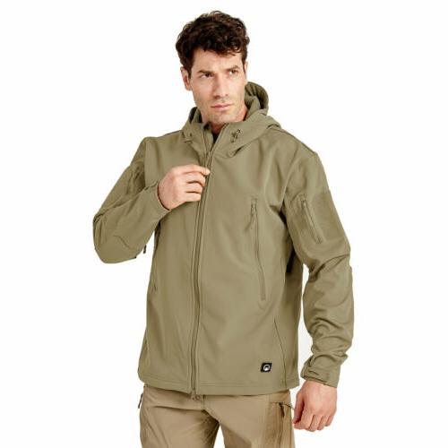 Men's Waterproof Fishing Outdoor Pocket Jacket Coat