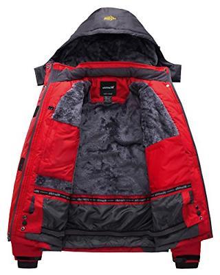 Wantdo Men's Waterproof Jacket Jacket US