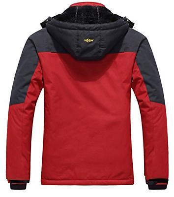 Wantdo Men's Jacket Windproof Ski Jacket US