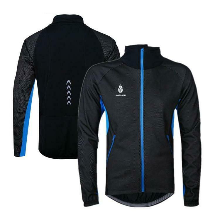 Men's Cycling Fleece Thermal Bicycle