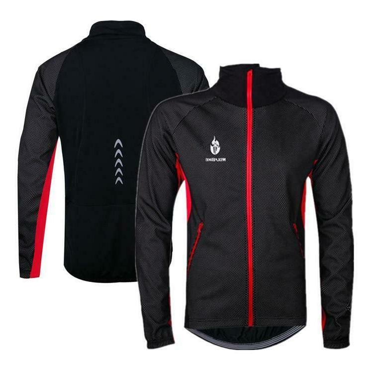 Men's Jackets Cycling Fleece Coat Thermal