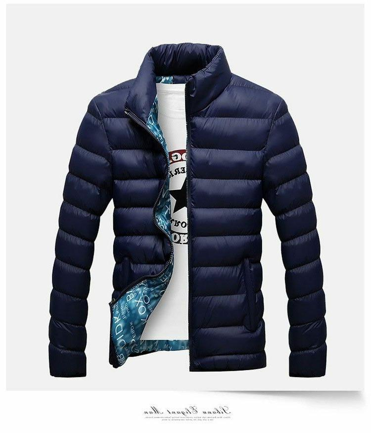 Men's Jackets Polyester Thick Coat