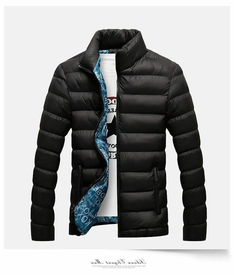 Men's Polyester Cotton Parka Thick
