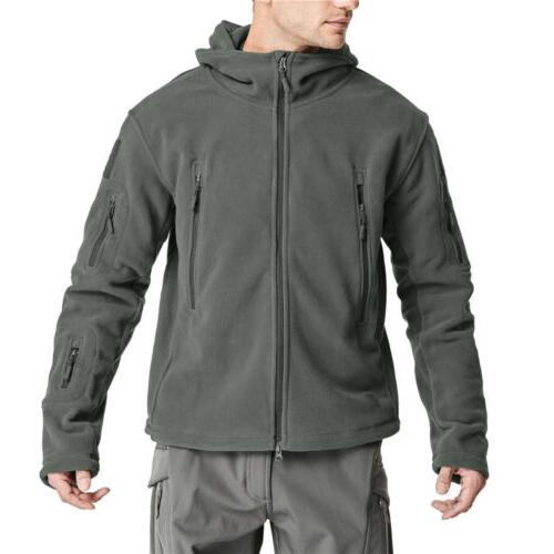 Men's Winter Coats Hooded Military Hiking