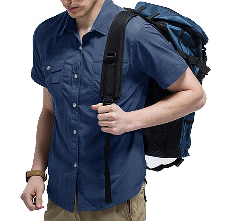 Men's Outdoor Tactical Shirts Hiking Fishing Shirts Shirt