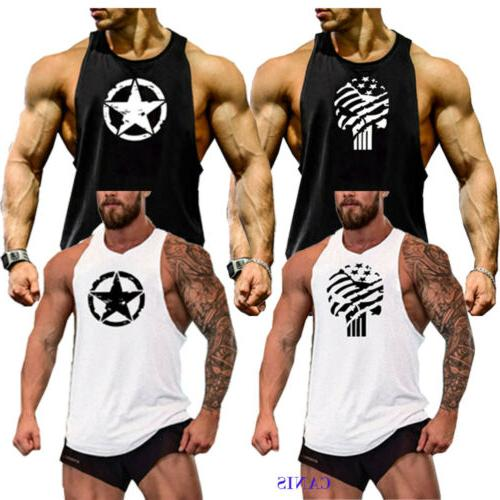 Men Sports Fit Tank Summer Clothes