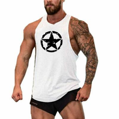Sports Slim Fit Tank Top T-Shirt Summer Clothes