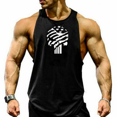 Men Casual Sports Vest Tank Top Summer Clothes