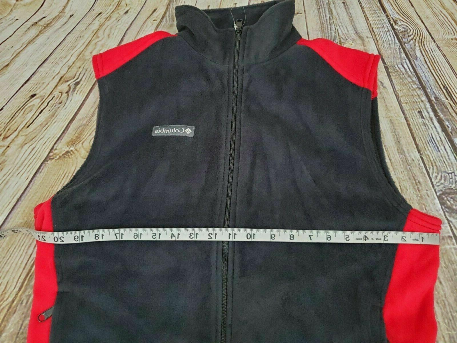 Columbia Vest Full Fleece NWOT