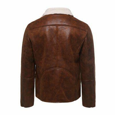 Men Streetwear Mens Autumn Fur Liner