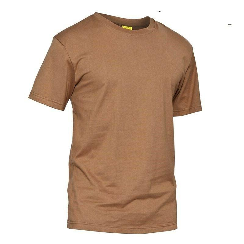Men Tactical Short Sleeve Cotton Casual Camouflage