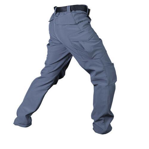 TACVASEN Tactical Fleece Pants Hunting Combat
