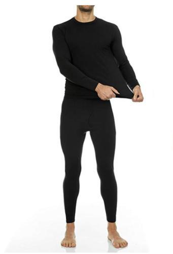 Men Stretch T-Shirt Long Sleeve Sleepwear Clothes
