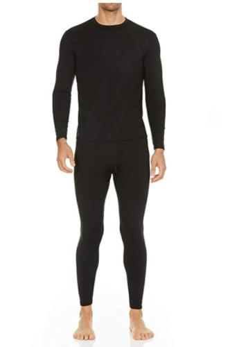 Men Thermal Stretch T-Shirt Long Sleepwear Clothes