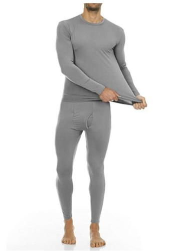 Men T-Shirt Long Sleepwear Winter
