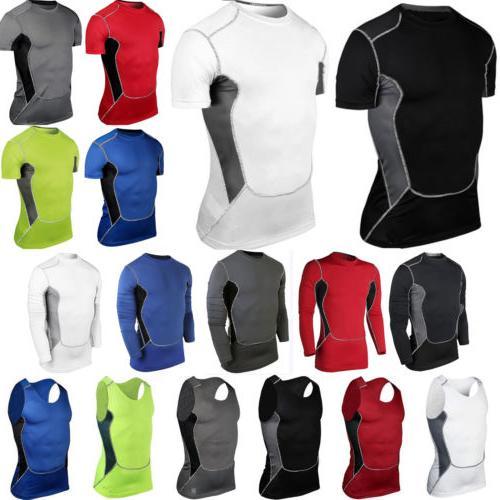 men tshirt compression under skin base layer