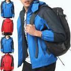 Men Waterproof Jacket Raincoat Sportswear Outdoor Hooded Spo