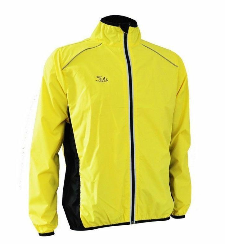 Men Cycling Wind Coat US Stock