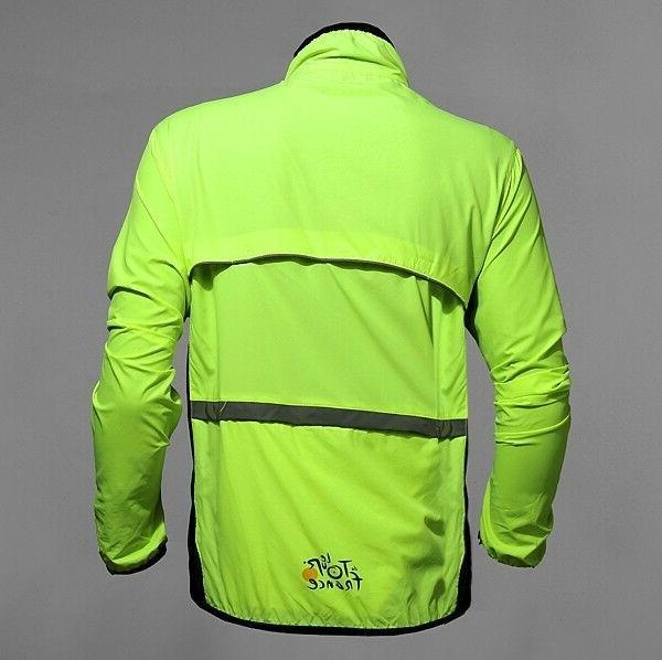 Men Cycling Jacket Wind US Stock