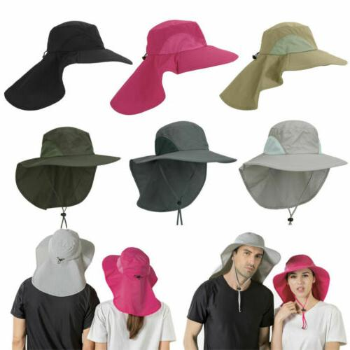 Men Boonie Snap Hat Ear Neck