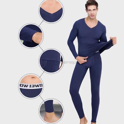Men Women Thermal T-Shirt+Long Pants Unisex Warm Outfit Clothes