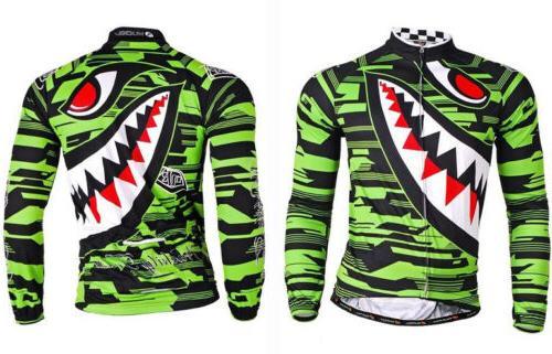 MenRoad Bike Clothing Breathable Cycing Long Sleeve Tops Jackets