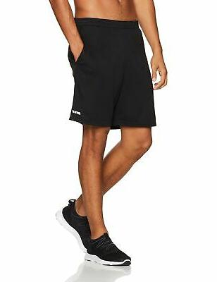 Amazon Essentials Loose-Fit Performance Shorts Black/Black Large