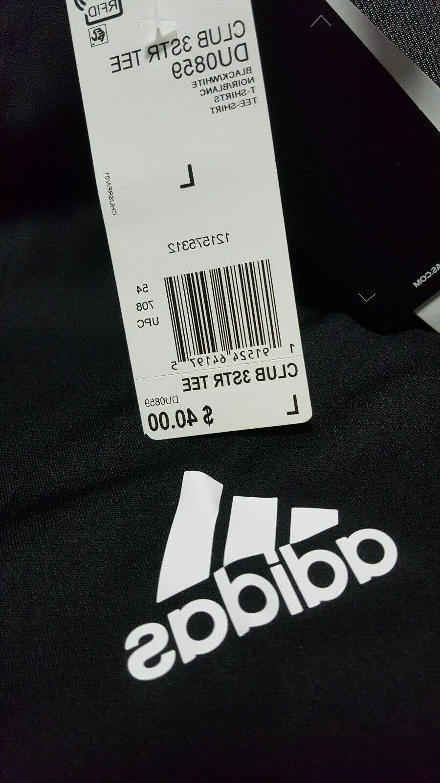 Adidas Club Tee White Tennis Breathable DU0859